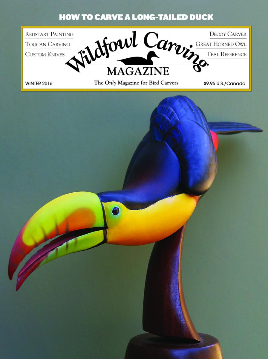 Wildfowl Carving Magazine - Winter 2016